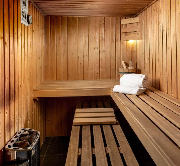 Sauna in je woning