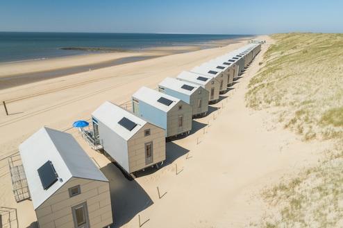 Strandhuisjes Julianadorp Noord holland