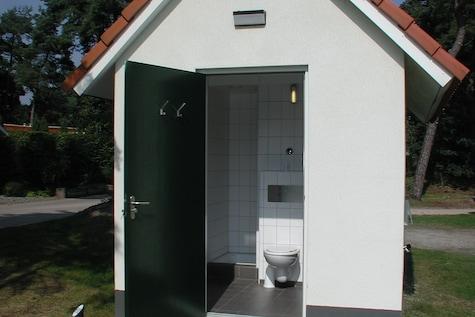 Kampeerplaats incl. sanitair met vloerverwarming