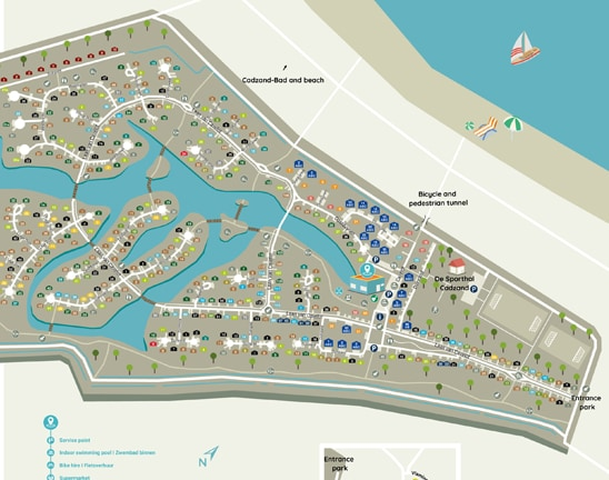 Plan du parc
