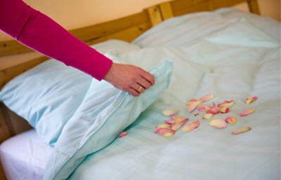 Duvet package & bed-making service